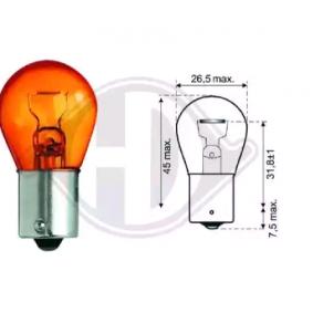 Крушка с нагреваема жичка, мигачи P21W, Ba15s, 12волт, 21ват LID10048