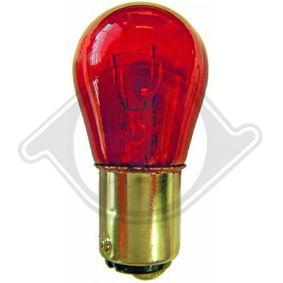 Крушка с нагреваема жичка, стоп светлини PR21W, BA15s, 12волт, 21ват LID10049