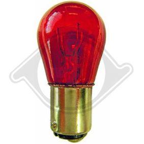 Bulb, stop light PR21W, BA15s, 12V, 21W LID10049