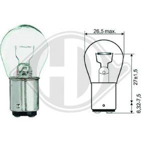 Крушка с нагреваема жичка, мигачи / габарити P21W, BA15d, 21ват, 12волт LID10053