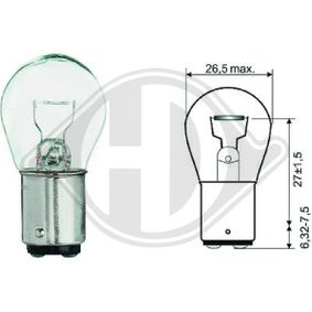 DIEDERICHS  LID10053 Bulb, indicator- / outline lamp