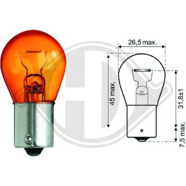 Bulb, indicator DIEDERICHS LID10054 rating