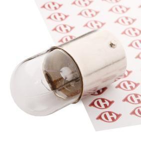 Крушка с нагреваема жичка, светлини купе R5W, BA15s, 5ват, 12волт LID10058 VW GOLF, POLO, TOURAN
