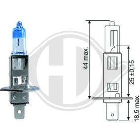Bulb, headlight H1, P14,5s, 55W, 12V LID10062 FORD FOCUS, FIESTA, MONDEO