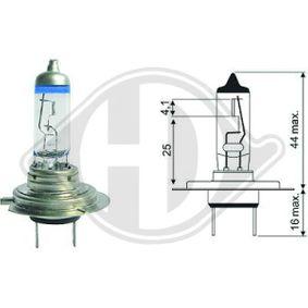 Bulb, headlight LID10063 PUNTO (188) 1.2 16V 80 MY 2006