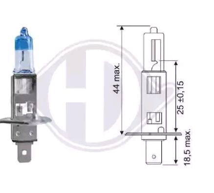 Glühlampe, Hauptscheinwerfer LID10065 DIEDERICHS H1 in Original Qualität
