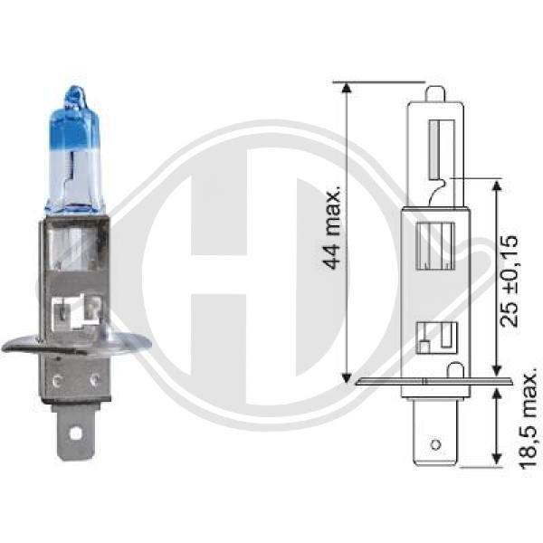 Glühlampe, Hauptscheinwerfer DIEDERICHS LID10065 Bewertung