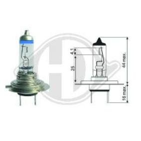 Bulb, headlight LID10066 PUNTO (188) 1.2 16V 80 MY 2004