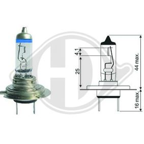 DIEDERICHS More Light +120% LID10066 Glühlampe, Hauptscheinwerfer