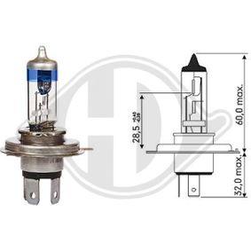 Glühlampe, Hauptscheinwerfer mit OEM-Nummer 6137990