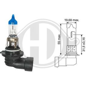 Glühlampe, Fernscheinwerfer HB3, 60W, 12V LID10068