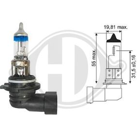 Bulb, spotlight HB4, 51W, 12V LID10069 MERCEDES-BENZ C-Class, SLK, CLK