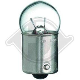 Крушка с нагреваема жичка, стоп светлини / габарити R10W, 12волт, BA15d, 10ват LID10071