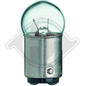 Крушка с нагреваема жичка, светлини купе R5W, BA15d, 5ват, 12волт LID10072 VW GOLF, PASSAT, POLO
