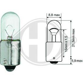 Bulb, interior light T4W, Ba9s, 4W, 12V LID10073