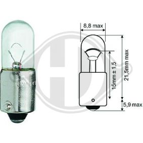 Bulb, interior light T4W, Ba9s, 4W, 12V LID10073 MERCEDES-BENZ E-Class, S-Class, CLK