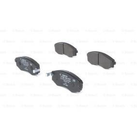 Bremsbelagsatz, Scheibenbremse Breite: 137,3mm, Höhe: 54,4mm, Dicke/Stärke: 16,8mm mit OEM-Nummer 58101 29A20
