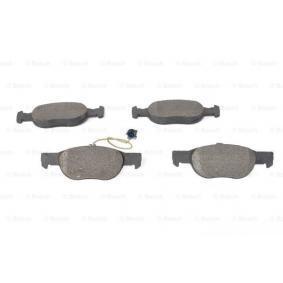 Bremsbelagsatz, Scheibenbremse Breite 1: 151,5mm, Breite 2: 151,6mm, Höhe: 52mm, Dicke/Stärke: 17mm mit OEM-Nummer 9947600