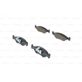 Bremsbelagsatz, Scheibenbremse Breite 1: 150,3mm, Breite 2: 151,5mm, Höhe: 46,4mm, Dicke/Stärke: 17,5mm mit OEM-Nummer 1 010 503