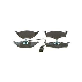 Bremsbelagsatz, Scheibenbremse Breite: 141,8mm, Höhe 1: 48,1mm, Höhe 2: 49,8mm, Dicke/Stärke: 14,3mm mit OEM-Nummer 8Z0 698 151