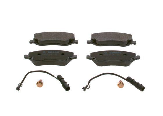 BOSCH  0 986 424 679 Bremsbelagsatz, Scheibenbremse Breite: 146,7mm, Höhe: 59,6mm, Dicke/Stärke: 19,1mm