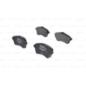 Bremsbelagsatz, Scheibenbremse Breite: 131,7mm, Höhe: 62,1mm, Dicke/Stärke: 18,3mm mit OEM-Nummer 236.15