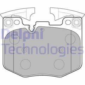 Bremsbelagsatz, Scheibenbremse Höhe: 94mm, Dicke/Stärke 2: 20mm mit OEM-Nummer 34116888457