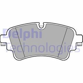 Kit de plaquettes de frein, frein à disque Hauteur: 59mm, Epaisseur 2: 17mm avec OEM numéro 8W0 698 451 N