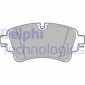 Brake Pad Set, disc brake Article № LP3240 £ 140,00