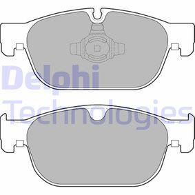 Bremsbelagsatz, Scheibenbremse Höhe: 75mm, Dicke/Stärke 2: 19mm, 18,7mm mit OEM-Nummer 31499906