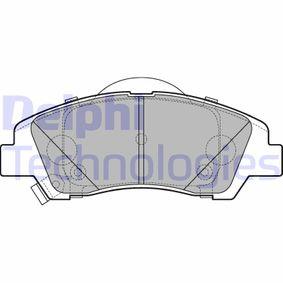 Bremsbelagsatz, Scheibenbremse Höhe: 50mm, Dicke/Stärke 2: 16mm mit OEM-Nummer 58101 B9A70
