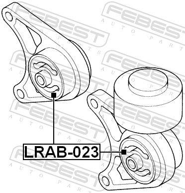 Lagerung, Differential FEBEST LRAB-023 Bewertung