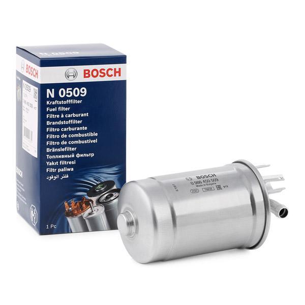 1 Kraftstofffilter BOSCH 0 986 450 509 passend für AUDI SKODA VW