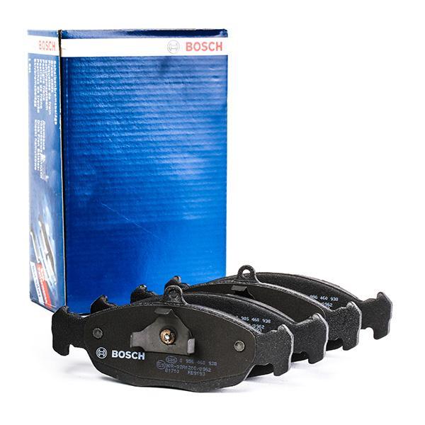Комплект спирачно феродо, дискови спирачки BOSCH BP508 3165143727874