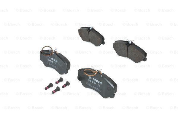 Bremsbeläge 0 986 460 998 BOSCH 90R010286002 in Original Qualität