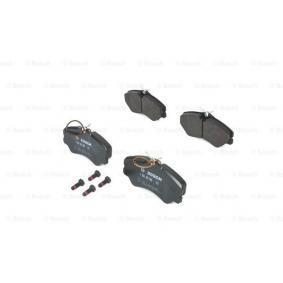 Bremsbelagsatz, Scheibenbremse Breite: 144,9mm, Höhe: 71,6mm, Dicke/Stärke: 19,5mm mit OEM-Nummer 9941208