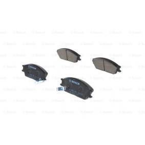 Bremsbelagsatz, Scheibenbremse Breite: 127,5mm, Höhe: 49mm, Dicke/Stärke: 16mm mit OEM-Nummer 58101 25A00