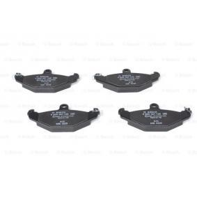 Bremsbelagsatz, Scheibenbremse Breite: 104,3mm, Höhe: 58,3mm, Dicke/Stärke: 14,8mm mit OEM-Nummer 6025 308 186