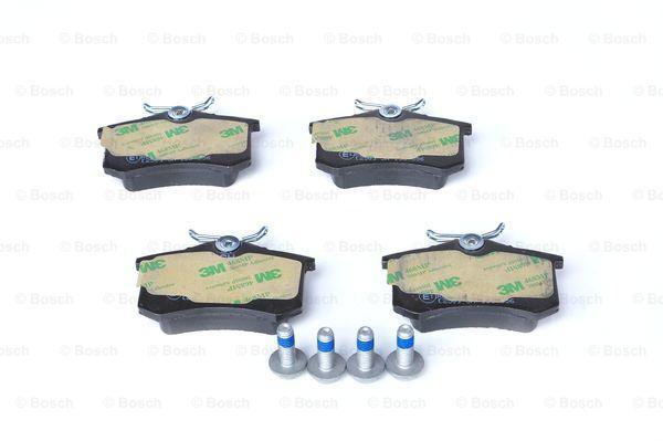 Jogo de pastilhas para travão de disco BOSCH BPVWR2 3165143660010