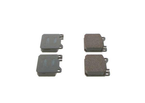 Bremsbelagsatz BOSCH E190R01245275 Bewertung