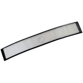 Filter, Innenraumluft Länge: 669mm, Breite: 120mm, Höhe: 28mm mit OEM-Nummer 4B0 819 439C