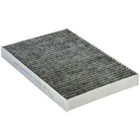 Filter, Innenraumluft Länge: 300mm, Breite: 205mm, Höhe: 30mm mit OEM-Nummer 4 B0 819 439 C
