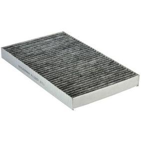 Filter, Innenraumluft Länge: 308mm, Breite: 195mm, Höhe: 30mm mit OEM-Nummer 4B0819439