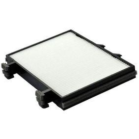 Filter, Innenraumluft Länge: 225mm, Breite: 206mm, Höhe: 33mm mit OEM-Nummer MR 360889