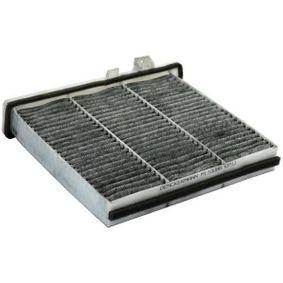 Filter, Innenraumluft Länge: 239mm, Breite: 218mm, Höhe: 67mm mit OEM-Nummer 906 830 021 8