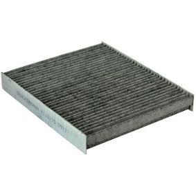 Filter, Innenraumluft Länge: 248mm, Breite: 216mm, Höhe: 32mm mit OEM-Nummer 1054 468