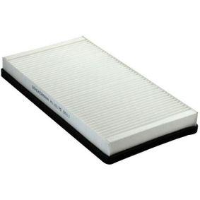 Filter, Innenraumluft Länge: 325mm, Breite: 169mm, Höhe: 34mm mit OEM-Nummer 6447.LN