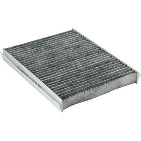 Filter, Innenraumluft Länge: 254mm, Breite: 250mm, Höhe: 31mm mit OEM-Nummer 6447 LN