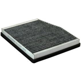 Filter, Innenraumluft Länge: 232mm, Breite: 216mm, Höhe: 30mm mit OEM-Nummer 46 770 834