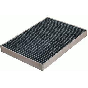 Filter, Innenraumluft Länge: 309mm, Breite: 213mm, Höhe: 30mm mit OEM-Nummer 04596 501AC